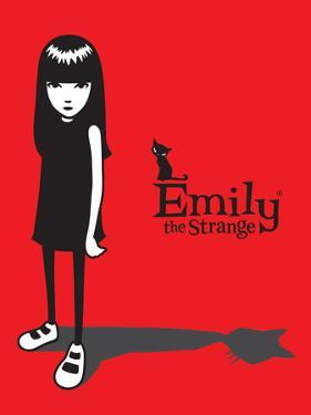 Cat Shadow by Emily the Strange