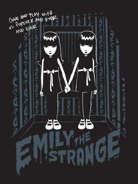 Come Play With Me Twins by Emily the Strange