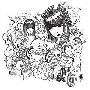 Doodled by Emily the Strange