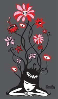 Flower Power by Emily the Strange