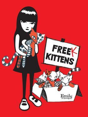 Freak Kittens by Emily the Strange