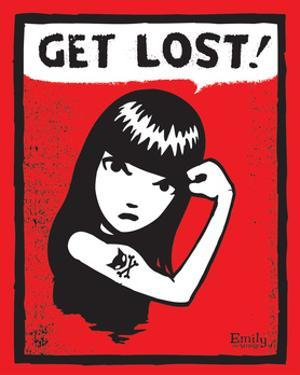 Get Lost 3 by Emily the Strange