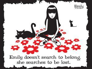 Get Lost by Emily the Strange