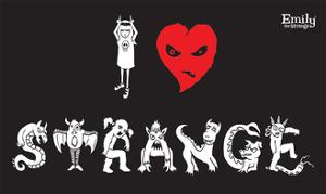 I Love Strange by Emily the Strange