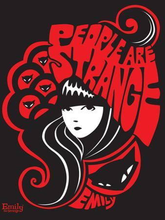 People Are Strange by Emily the Strange