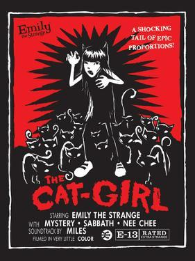The Cat Girl by Emily the Strange
