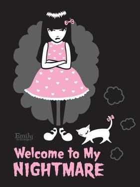Welcome Nightmare by Emily the Strange