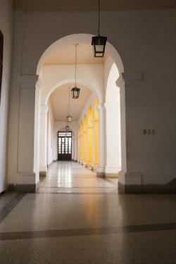 Caribbean, Cuba, Trinidad. Convento de San Francisco de Asi by Emily Wilson