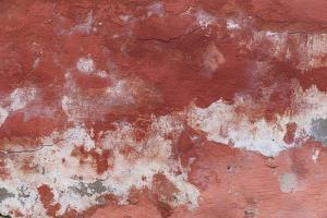 Europe, Romania. Mures County, Sighisoara. Abstract wall. by Emily Wilson