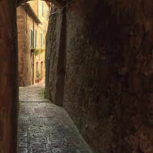 Italy, Val d'Orcia in Tuscany, province of Siena, Pienza. UNESCO World Heritage Site. by Emily Wilson