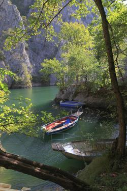 Macedonia, Matka Is a Canyon West of Skopje and Location of Several Medieval Monasteries by Emily Wilson