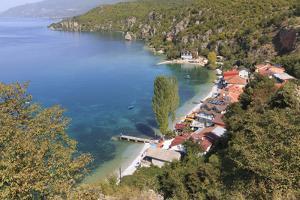 Macedonia, Ohrid and Lake Ohrid, Sheltered Beach by Emily Wilson