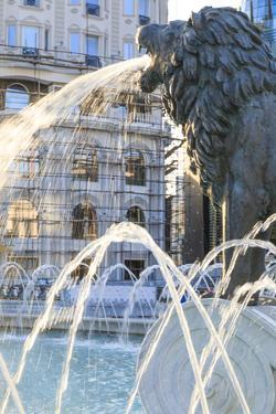 Macedonia, Skopje, Macedonia Square Fountain, Alexander the Great by Emily Wilson