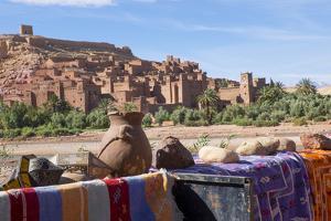 Morocco, Ouarzazate, Ait Benhaddou Cityscape by Emily Wilson