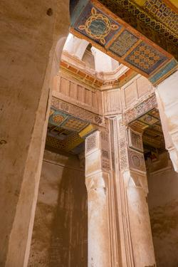 Morocco, Tamnougalt Kasbah in the Draa Valley by Emily Wilson