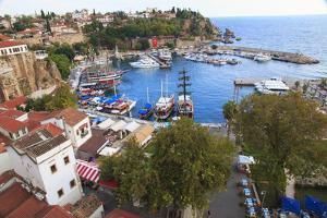 Turkey, Antalya, Southwest Mediterranean coast bordered by the Taurus Mountains. by Emily Wilson