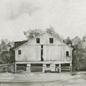 Solemn Barn Sketch I by Emma Caroline