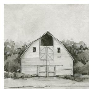 Solemn Barn Sketch III by Emma Caroline