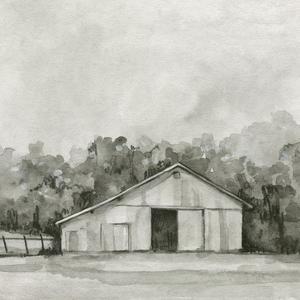 Solemn Barn Sketch IV by Emma Caroline