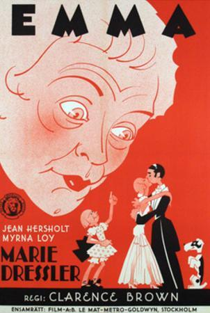 Emma, Foreign Poster Art, 1932