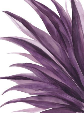 Violet Palms 1 by Emma Jones