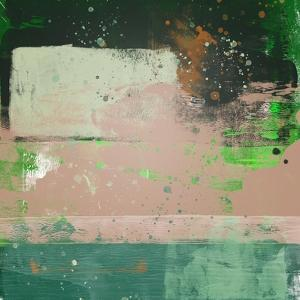 Abstract Cider and Green Study by Emma Moore
