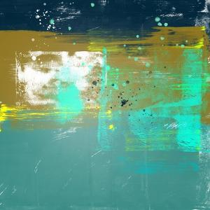 Abstract Dijon and Jungle Green Study by Emma Moore