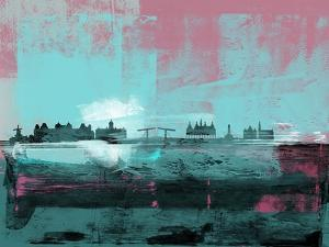 Amsterdam Abstract Skyline I by Emma Moore