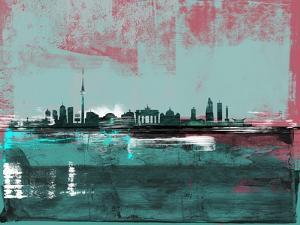 Berlin Abstract Skyline I by Emma Moore