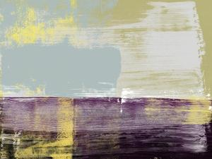 Byzantine Violet Abstract Study by Emma Moore