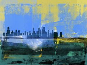 Chicago Abstract Skyline I by Emma Moore