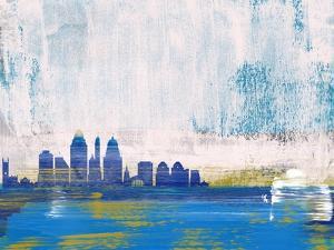 Cincinnati Abstract Skyline I by Emma Moore