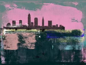 Cleveland Abstract Skyline II by Emma Moore