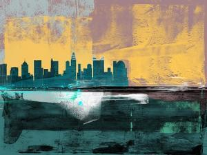 Columbus Abstract Skyline I by Emma Moore