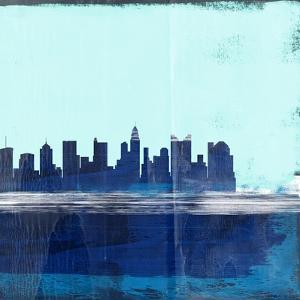Columbus Abstract Skyline II by Emma Moore
