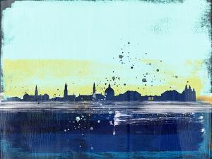 Copenhagen Abstract Skyline I by Emma Moore