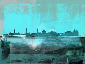 Copenhagen Abstract Skyline II by Emma Moore