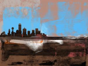 Dallas Abstract Skyline I by Emma Moore