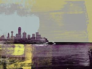 Dallas Abstract Skyline II by Emma Moore