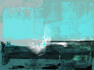 Emerald Sky Abstract Study by Emma Moore