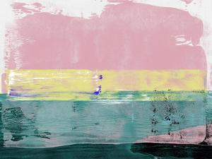 Flamingo Sky Abstract Study by Emma Moore