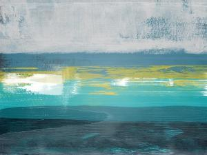 Jungle Blue Horizon Abstract Study by Emma Moore