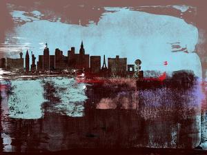 Las Vegas Abstract Skyline I by Emma Moore