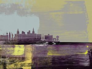 Las Vegas Abstract Skyline II by Emma Moore