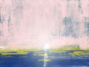 Light Pink Sky Abstract Study I by Emma Moore