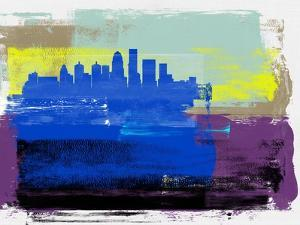 Louisville Abstract Skyline I by Emma Moore