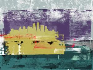 Louisville Abstract Skyline II by Emma Moore