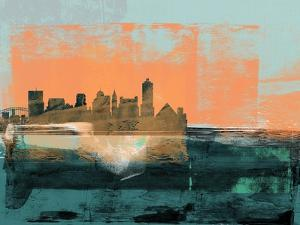 Memphis Abstract Skyline II by Emma Moore