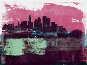 Minneapolis Abstract Skyline I by Emma Moore