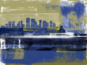 New Orleans Abstract Skyline II by Emma Moore